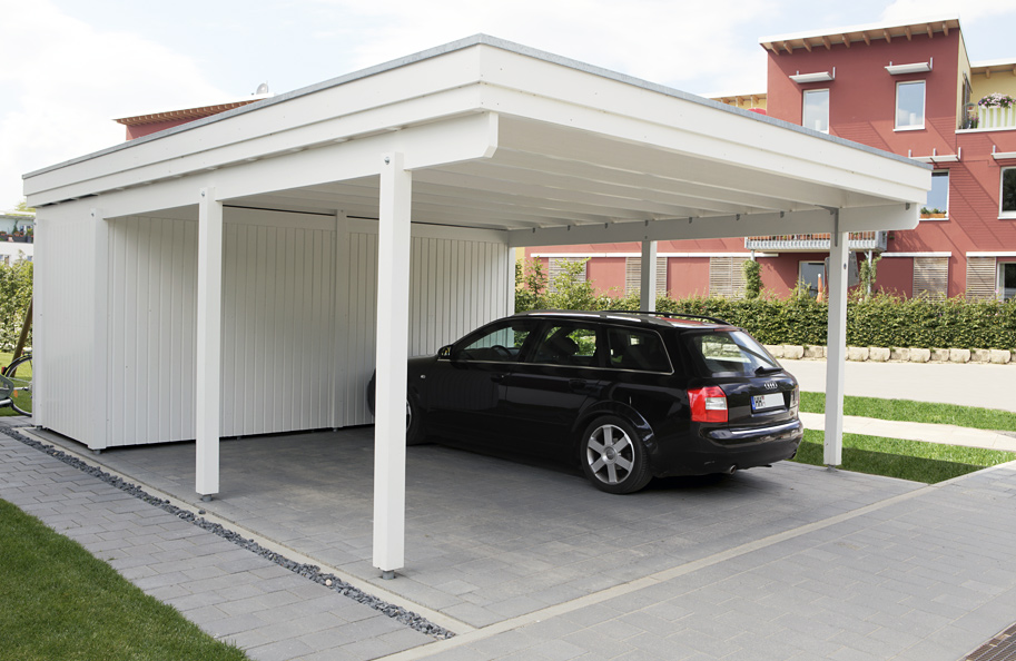 carport mit abstellraum carport 2017. Black Bedroom Furniture Sets. Home Design Ideas