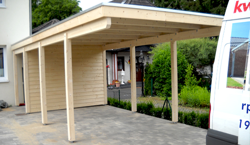 carport als sichtschutz kwp caports. Black Bedroom Furniture Sets. Home Design Ideas