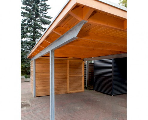 holz und stahlcarports archive kwp caports. Black Bedroom Furniture Sets. Home Design Ideas