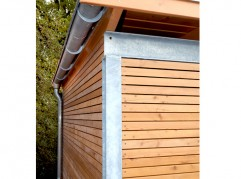 STAHLCARPORT MIT HOLZ - kwp Caports