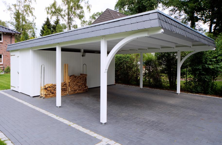 Fabulous Carport-Fotogalerie - kwp Caports AZ41