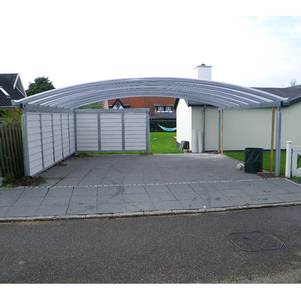 Stahlcarport kwp caports for Tonnendach carport