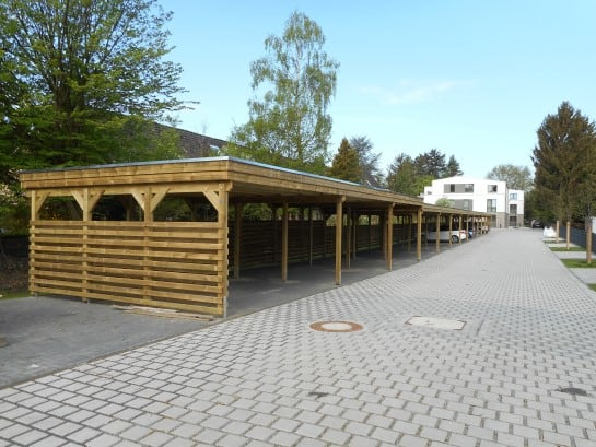 Holzanlagen Carports
